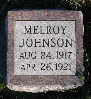 JOHNSON, MELROY - Minnehaha County, South Dakota | MELROY JOHNSON - South Dakota Gravestone Photos