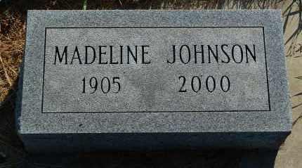 JOHNSON, MADELINE - Minnehaha County, South Dakota | MADELINE JOHNSON - South Dakota Gravestone Photos