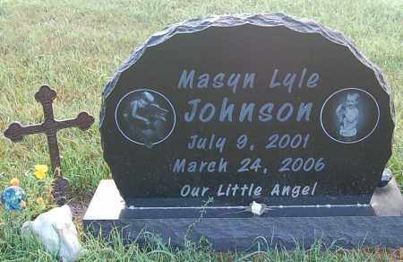 JOHNSON, MASYN LYLE - Minnehaha County, South Dakota | MASYN LYLE JOHNSON - South Dakota Gravestone Photos