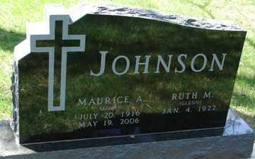 JOHNSON, RUTH M. - Minnehaha County, South Dakota | RUTH M. JOHNSON - South Dakota Gravestone Photos