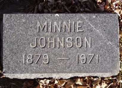 JOHNSON, MINNIE - Minnehaha County, South Dakota | MINNIE JOHNSON - South Dakota Gravestone Photos