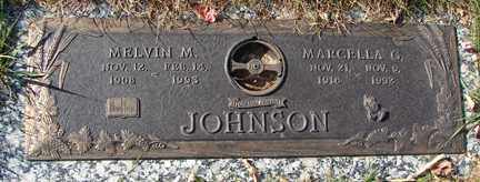 JOHNSON, MELVIN M. - Minnehaha County, South Dakota   MELVIN M. JOHNSON - South Dakota Gravestone Photos
