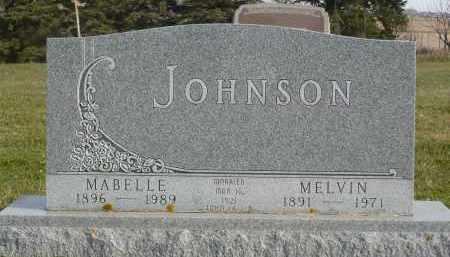 JOHNSON, MELVIN - Minnehaha County, South Dakota | MELVIN JOHNSON - South Dakota Gravestone Photos