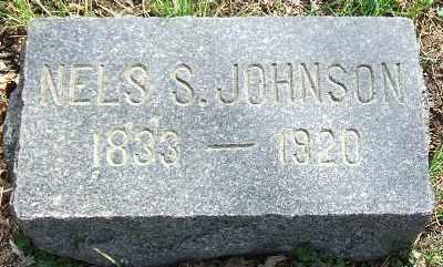 JOHNSON, NELS S. - Minnehaha County, South Dakota   NELS S. JOHNSON - South Dakota Gravestone Photos