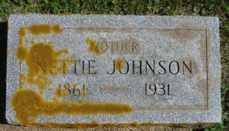 JOHNSON, NETTIE - Minnehaha County, South Dakota | NETTIE JOHNSON - South Dakota Gravestone Photos