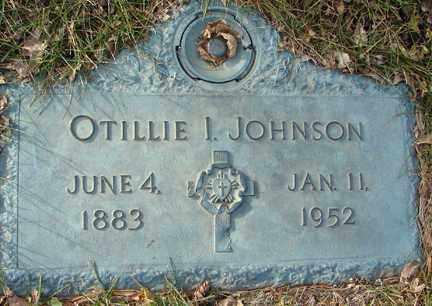 JOHNSON, OTILLIE INANDA - Minnehaha County, South Dakota | OTILLIE INANDA JOHNSON - South Dakota Gravestone Photos