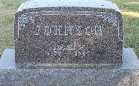 JOHNSON, OSCAR V. - Minnehaha County, South Dakota | OSCAR V. JOHNSON - South Dakota Gravestone Photos