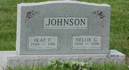 JOHNSON, OLAF G. - Minnehaha County, South Dakota | OLAF G. JOHNSON - South Dakota Gravestone Photos