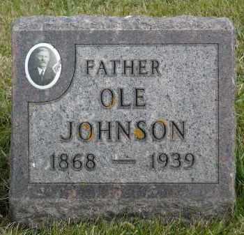 JOHNSON, OLE - Minnehaha County, South Dakota | OLE JOHNSON - South Dakota Gravestone Photos