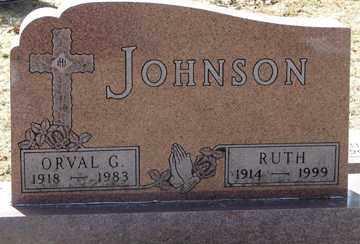 JOHNSON, ORVAL G. - Minnehaha County, South Dakota | ORVAL G. JOHNSON - South Dakota Gravestone Photos