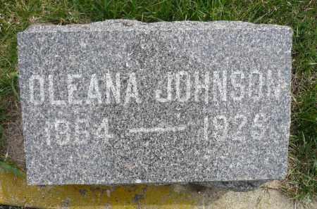 JOHNSON, OLEANA - Minnehaha County, South Dakota | OLEANA JOHNSON - South Dakota Gravestone Photos