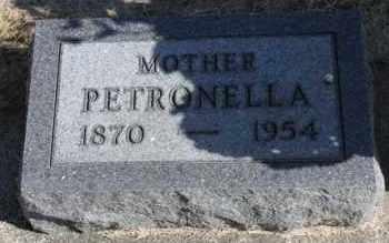 JOHNSON, PETRONELLA - Minnehaha County, South Dakota | PETRONELLA JOHNSON - South Dakota Gravestone Photos