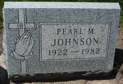 JOHNSON, PEARL M. - Minnehaha County, South Dakota | PEARL M. JOHNSON - South Dakota Gravestone Photos
