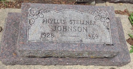 JOHNSON, PHYLLIS - Minnehaha County, South Dakota | PHYLLIS JOHNSON - South Dakota Gravestone Photos