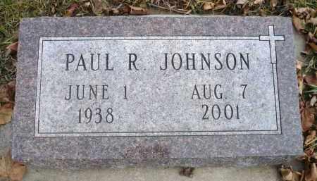 JOHNSON, PAUL R. - Minnehaha County, South Dakota | PAUL R. JOHNSON - South Dakota Gravestone Photos