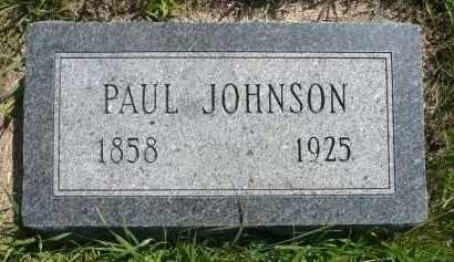 JOHNSON, PAUL - Minnehaha County, South Dakota | PAUL JOHNSON - South Dakota Gravestone Photos