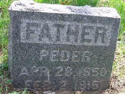 JOHNSON, PEDER - Minnehaha County, South Dakota | PEDER JOHNSON - South Dakota Gravestone Photos
