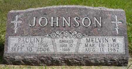 JOHNSON, PAULINE - Minnehaha County, South Dakota | PAULINE JOHNSON - South Dakota Gravestone Photos