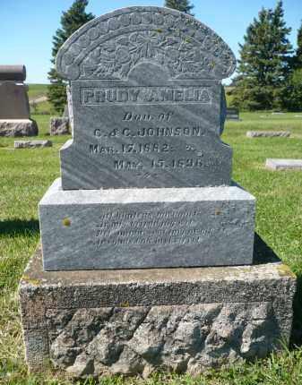 JOHNSON, PRUDY AMELIA - Minnehaha County, South Dakota | PRUDY AMELIA JOHNSON - South Dakota Gravestone Photos