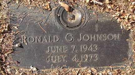 JOHNSON, RONALD G. - Minnehaha County, South Dakota   RONALD G. JOHNSON - South Dakota Gravestone Photos