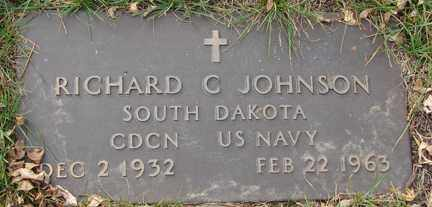 JOHNSON, RICHARD CHARLES - Minnehaha County, South Dakota   RICHARD CHARLES JOHNSON - South Dakota Gravestone Photos