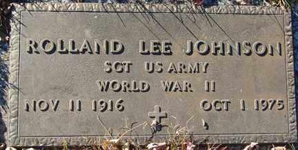 JOHNSON, ROLLAND LEE - Minnehaha County, South Dakota | ROLLAND LEE JOHNSON - South Dakota Gravestone Photos