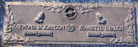 JOHNSON, RAYMOND D. - Minnehaha County, South Dakota | RAYMOND D. JOHNSON - South Dakota Gravestone Photos