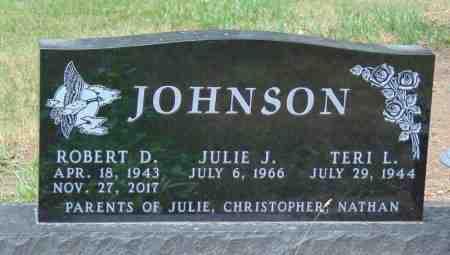 JOHNSON, JULIE J. - Minnehaha County, South Dakota | JULIE J. JOHNSON - South Dakota Gravestone Photos