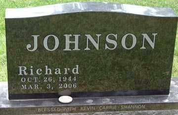 JOHNSON, RICHARD - Minnehaha County, South Dakota | RICHARD JOHNSON - South Dakota Gravestone Photos