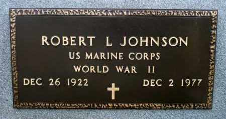 JOHNSON, ROBERT LEE (WWII) - Minnehaha County, South Dakota | ROBERT LEE (WWII) JOHNSON - South Dakota Gravestone Photos
