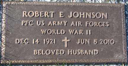 JOHNSON, ROBERT E. (WWII) - Minnehaha County, South Dakota | ROBERT E. (WWII) JOHNSON - South Dakota Gravestone Photos