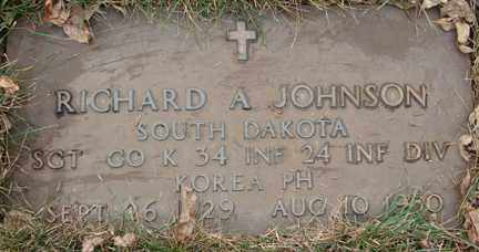 JOHNSON, RICHARD A. (KOREA) - Minnehaha County, South Dakota | RICHARD A. (KOREA) JOHNSON - South Dakota Gravestone Photos