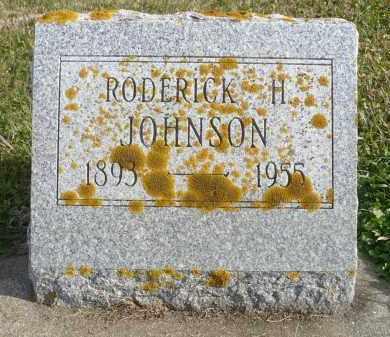 JOHNSON, RODERICK H. - Minnehaha County, South Dakota | RODERICK H. JOHNSON - South Dakota Gravestone Photos