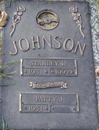 JOHNSON, STANLEY R. - Minnehaha County, South Dakota | STANLEY R. JOHNSON - South Dakota Gravestone Photos