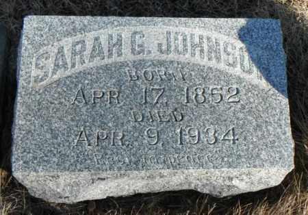JOHNSON, SARAH GURINA - Minnehaha County, South Dakota | SARAH GURINA JOHNSON - South Dakota Gravestone Photos