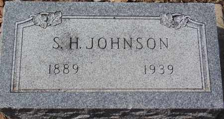 JOHNSON, S.H. - Minnehaha County, South Dakota | S.H. JOHNSON - South Dakota Gravestone Photos