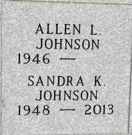 JOHNSON, ALLEN L. - Minnehaha County, South Dakota | ALLEN L. JOHNSON - South Dakota Gravestone Photos