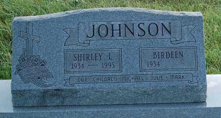 JOHNSON, SHIRLEY L. - Minnehaha County, South Dakota | SHIRLEY L. JOHNSON - South Dakota Gravestone Photos