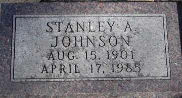 JOHNSON, STANLEY A. - Minnehaha County, South Dakota | STANLEY A. JOHNSON - South Dakota Gravestone Photos