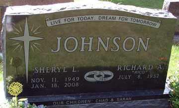JOHNSON, RICHARD A, - Minnehaha County, South Dakota | RICHARD A, JOHNSON - South Dakota Gravestone Photos