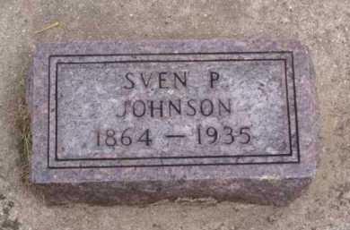 JOHNSON, SVEN P. - Minnehaha County, South Dakota   SVEN P. JOHNSON - South Dakota Gravestone Photos