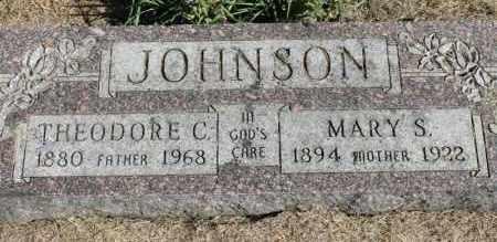 JOHNSON, THEORDORE C. - Minnehaha County, South Dakota | THEORDORE C. JOHNSON - South Dakota Gravestone Photos