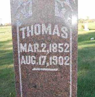 JOHNSON, THOMAS - Minnehaha County, South Dakota | THOMAS JOHNSON - South Dakota Gravestone Photos