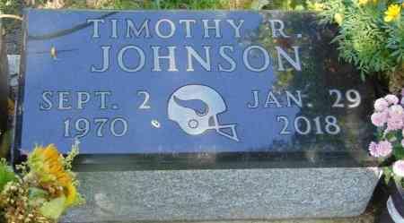 JOHNSON, TIMOTHY R. - Minnehaha County, South Dakota | TIMOTHY R. JOHNSON - South Dakota Gravestone Photos