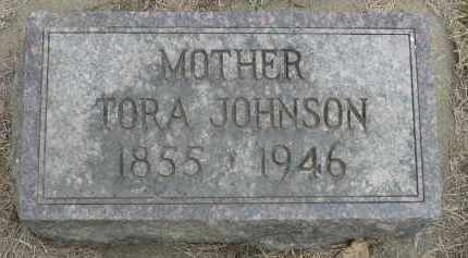 JOHNSON, TORA - Minnehaha County, South Dakota | TORA JOHNSON - South Dakota Gravestone Photos