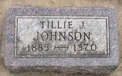 JOHNSON, TILLIE J. - Minnehaha County, South Dakota | TILLIE J. JOHNSON - South Dakota Gravestone Photos