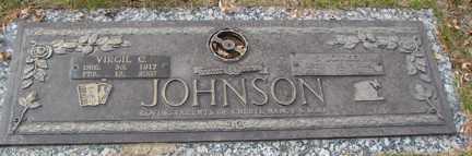 JOHNSON, VIRGIL C. - Minnehaha County, South Dakota   VIRGIL C. JOHNSON - South Dakota Gravestone Photos