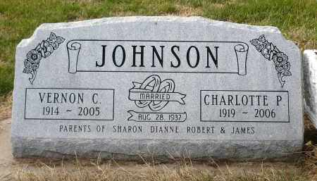 JOHNSON, CHARLOTTE P. - Minnehaha County, South Dakota | CHARLOTTE P. JOHNSON - South Dakota Gravestone Photos