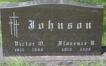 JOHNSON, VICTOR D. - Minnehaha County, South Dakota   VICTOR D. JOHNSON - South Dakota Gravestone Photos
