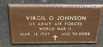 JOHNSON, VIRGIL O. (WWII) - Minnehaha County, South Dakota   VIRGIL O. (WWII) JOHNSON - South Dakota Gravestone Photos